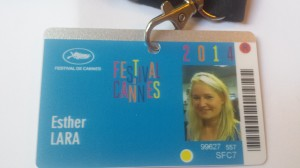 Esther Lara en Cannes